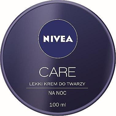 3in1 Leichte Gesichtscreme für die Nacht - Nivea Care Night Light Face Cream — Bild N2