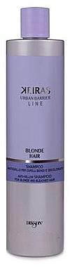 Anti-Gebstich Shampoo für blondes und gebleichtes Haar - Dikson Blond Hair Anti-Yellow Shampoo For Blonde And Beached Hair — Bild N2