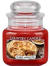 Düfte, Parfümerie und Kosmetik Duftkerze im Glas Warm Apple Pie - Country Candle Warm Apple Pie