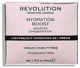 Feuchtigkeitsspendende Gel-Creme mit Hyaluronsäure - Makeup Revolution Lightweight Hydrating Gel Cream — Bild N2