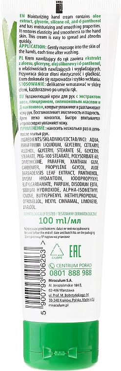 Feuchtigkeitsspendende Handcreme mit Aloeextrakt - Miraculum Gracja Aloe Hand Cream — Bild N2