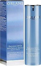 Düfte, Parfümerie und Kosmetik Detox Gesichtsemulsion für müde Haut - Orlane Anti-Fatigue Absolute Detox Emulsion