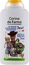 Düfte, Parfümerie und Kosmetik Extra sanftes 3in1 Duschgel, Shampoo und Badeschaum für Kinder Toy Story 4 - Corine De Farme Toy Story 4 Shower Gel