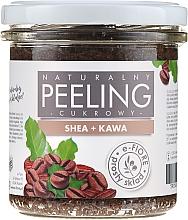 Düfte, Parfümerie und Kosmetik Natürliches Körperpeeling mit Sheabutter und Kaffee - E-Fiore Coffee Body Peeling