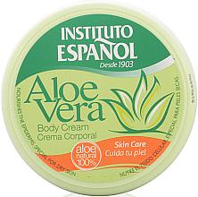 Düfte, Parfümerie und Kosmetik Pflegende Körpercreme für trockene Haut mit Aloe Vera - Instituto Espanol Aloe Vera Body Cream