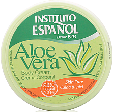 "Düfte, Parfümerie und Kosmetik Körpercreme ""Aloe Vera"" - Instituto Espanol Aloe Vera Body Cream"
