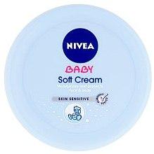 Düfte, Parfümerie und Kosmetik Feuchtigkeitsspendende und schützende Kindercreme für Körper und Gesicht - Nivea Baby Cream