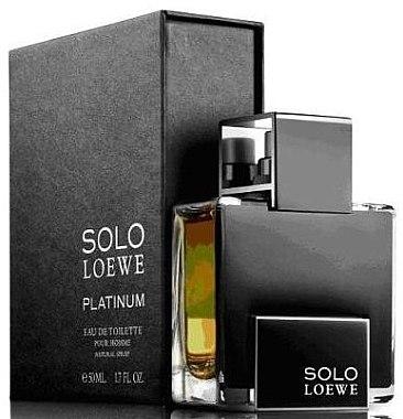 Loewe Solo Loewe Platinum - Eau de Toilette — Bild N2