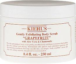 Düfte, Parfümerie und Kosmetik Sanftes Körperpeeling mit Grapefruit, Aloe Vera und Kamille - Kiehl's Body Scrub Grapefruit
