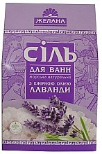 Düfte, Parfümerie und Kosmetik Natürliches Meeres-Badesalz mit ätherischem Lavendelöl - Aqua Cosmetics