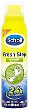 Düfte, Parfümerie und Kosmetik Erfrischendes Fußdeospray - Scholl Fresh Step Deodorant