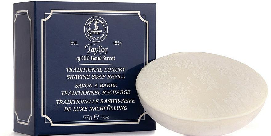 Traditionelle Rasierseife De Luxe Nachfüllung - Taylor Of Old Bond Street Traditional Luxury Shaving Soap Refill — Bild N1