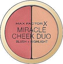 Düfte, Parfümerie und Kosmetik Rouge & Highlighter - Max Factor Miracle Cheeck Duo
