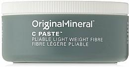 Düfte, Parfümerie und Kosmetik Haarstylingpaste mit Kokosnussöl - Original & Mineral C Paste Pliable Lightweight Fibre