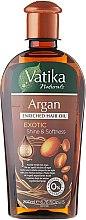 Düfte, Parfümerie und Kosmetik Angereichertes Haaröl mit Argan - Dabur Vatika Argan Enriched Hair Oil