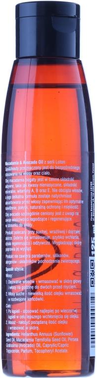 Haar- und Körperöl mit Macadamia und Avocado - Loton Macadamia & Avocado Oil — Bild N3