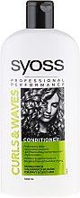 Düfte, Parfümerie und Kosmetik Haarspülung für lockiges Haar - Syoss Curls & Waves Conditioner
