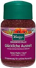 Düfte, Parfümerie und Kosmetik Badekristalle mit rotem Mohn und Hanföl - Kneipp Red Poppy & Hemp Bath Crystals Salt