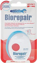Düfte, Parfümerie und Kosmetik Ultra dünne Zahnseide mit Minzgeschmack 30 m - Biorepair Ultra-Flat Floss