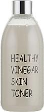 Düfte, Parfümerie und Kosmetik Feuchtigkeitsspendendes Gesichtsreinigungstonikum mit Reiswein-Extrakt - Real Skin Healthy Vinegar Skin Toner Raw Rice Wine