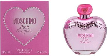 Moschino Pink Bouquet - Duftset (Eau de Toilette 100ml+rosa Herztasche) — Bild N5