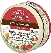 Düfte, Parfümerie und Kosmetik Salz- und Zuckerpeeling für den Körper mit Heidelbeeren und Brombeeren - Green Pharmacy