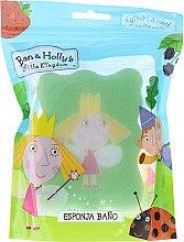Düfte, Parfümerie und Kosmetik Kinder-Badeschwamm Ben und Holly hellgrün - Suavipiel Ben & Holly