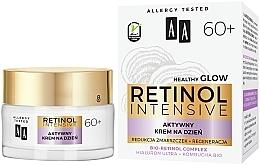 Aktiv glättende und feuchtigkeitsspendende Anti-Falten Tagescreme mit Bio Retinolkomplex für reife Gesichtshaut 60+ - AA Retinol Intensive 60+ Cream — Bild N1