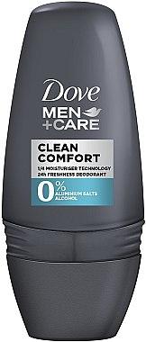 """Herren Deodorant """" Extra Schutz und Pflege"""" - Dove Clean Comfort Men Deodorant — Bild N1"""