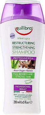 Regenerierendes Shampoo - Equilibra Tricologica Aloe Vera Restructuring & Strengthening Shampoo — Bild N1