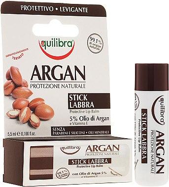 Lippenbalsam mit Arganöl - Equilibra Argan Protective Lip Balm — Bild N1