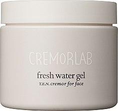 Düfte, Parfümerie und Kosmetik Revitalisierendes und feuchtigkeitsspendendes Gesichtsgel mit T.E.N.-Wasser und Vitamin A, C, B1 und B2 - Cremorlab T.E.N. Cremor Fresh Water Gel