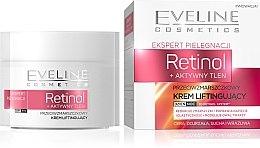 Düfte, Parfümerie und Kosmetik Anti-Falten Gesichtscreme für Tag und Nacht mit Lifting-Effekt - Eveline Cosmetics Skin Care Expert Retinol Lifting Cream