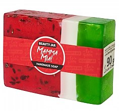Düfte, Parfümerie und Kosmetik Glycerinseife mit Wassermelone - Beauty Jar Mamma Mia! Handmade Soap