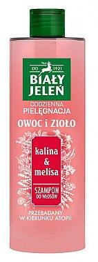 """Shampoo für alle Haartypen """"Kalina & Melisse"""" - Bialy Jelen Fruit and Herb Shampoo Kalina & Melissa — Bild N1"""