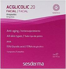 Düfte, Parfümerie und Kosmetik Anti-Aging-Ampullen mit freier Glykolsäure - SesDerma Laboratories Acglicolic 20 Ampoules