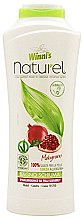 Düfte, Parfümerie und Kosmetik Shampoo für trockenes Haar mit natürlichem Granatapfelextrakt - Winni's Naturel Shampoo Melograno