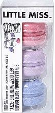 Düfte, Parfümerie und Kosmetik Badebomben-Set 3 St. - Little Miss Big Macaroon Bath Bombs