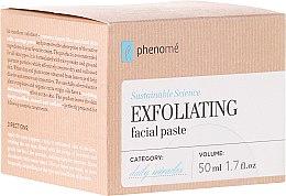 Düfte, Parfümerie und Kosmetik Peeling-Paste für das Gesicht mit weißem Ton und Bio Reispulver - Phenome Exfoliating Facial Pasta