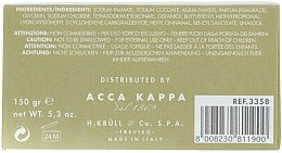 Parfümierte Körperseife mit süßer Olivenblüte - Acca Kappa Olea Fragrans — Bild N4