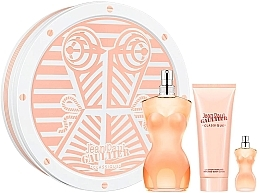 Düfte, Parfümerie und Kosmetik Jean Paul Gaultier Classique - Duftset (Eau de Toilette 100ml + Körperlotion 75ml + Eau de Toilette 5ml)
