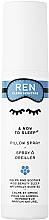Düfte, Parfümerie und Kosmetik Entspannendes und beruhigendes Kissenspray - Ren & Now to Sleep Pillow Spray