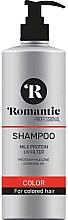 Düfte, Parfümerie und Kosmetik Farbschutz-Shampoo für coloriertes Haar - Romantic Professional Color Hair Shampoo