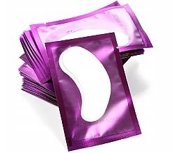 Düfte, Parfümerie und Kosmetik Gel-Patches zur Wimpernverlängerung violett - Lewer Lint Free Under Eye Gel Patches For Eyelash Extensons