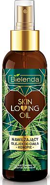 Feuchtigkeitsspendendes Hanf-Körperöl - Bielenda Skin Loving Oil Moisturizing Body Oil Hemp — Bild N1