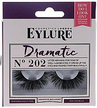 Düfte, Parfümerie und Kosmetik Künstliche Wimpern №202 - Eylure Pre-Glued Dramatic