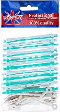 Düfte, Parfümerie und Kosmetik Dauerwellwickler 6/91 mm grün-weiß - Ronney
