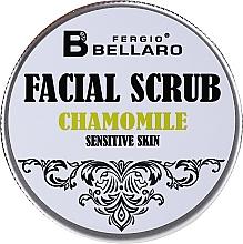 Düfte, Parfümerie und Kosmetik Gesichtspeeling mit Kamille - Fergio Bellaro Facial Scrub Chamomile