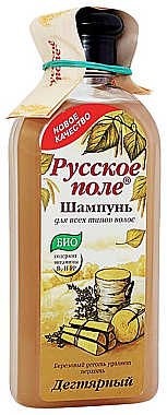 Bio-Shampoo für alle Haartypen mit Teer - Fratti HB Russisches Feld — Bild N1