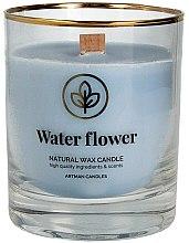 Düfte, Parfümerie und Kosmetik Duftkerze Water Flower - Artman Organic Candle Water Flower Arrivals Collection